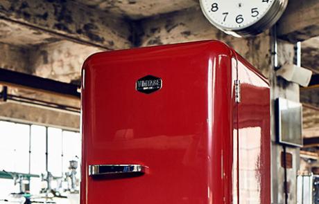 Vintage Kühlschrank Havanna : Vintage industries retro kühlschrank in verschiedenen farben